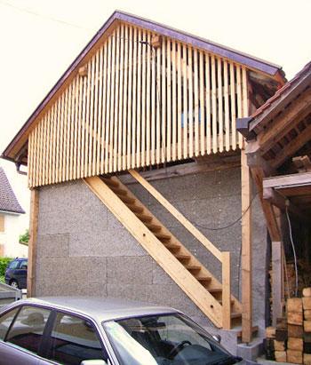 zimmerei wik f r eine runde sache aus holz treppenbau gerade treppe. Black Bedroom Furniture Sets. Home Design Ideas